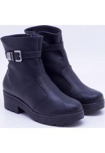 Ankle Boot Quiz Preta 35