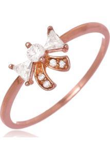Anel Le Diamond Lacinho Rosé - Kanui