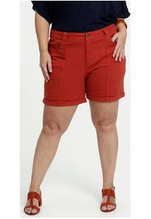 Short Feminino Sarja Plus Size Marisa