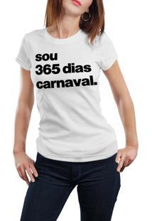 Camiseta Hunter 365 Dias Carnaval Branca