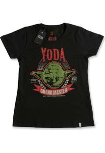 Camiseta Feminina Star Wars Yoda Grand Master - Feminino
