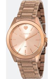 Relógio Feminino Lance Lrr4569L-R1Rx Analógico 5Atm