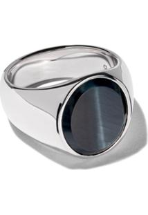 Tom Wood Anel Hawk Eye - Silver