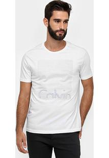 Camiseta Calvin Klein Relevo Calvin - Masculino