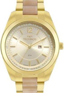 Relógio Technos 2015Ccx/4X Feminino - Feminino-Dourado