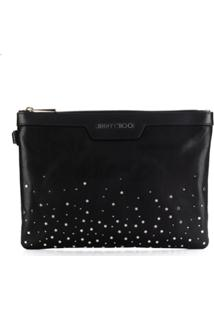 Jimmy Choo Clutch Derek - Preto