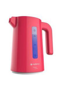 Chaleira Elétrica Cadence, Colors Rosa Doce Cel387 1,7 Litros 127V