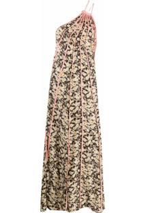 Stella Mccartney Vestido Floral Louisa - Preto
