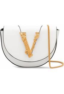 Versace Bolsa Virtus - Branco