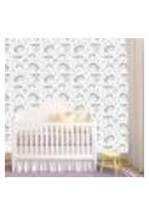 Papel De Parede Adesivo - Unicórnio Baby Bebe - 082Ppb
