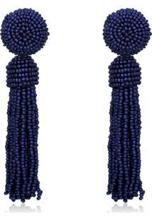 Brinco Rincawesky Zulai Azul Marinho