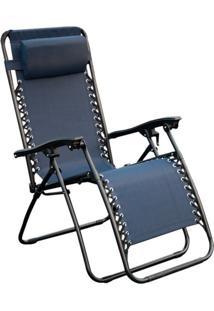 Cadeira De Jardim Equilibrium I Azul Marinho