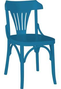 Cadeira De Jantar Opzione Azul