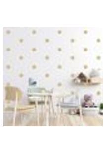 Adesivo Decorativo De Parede - Kit Com 60 Flores - 013Kad05