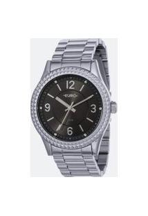 Relógio Feminino Euro Eu2035Yra/3C Analógico 5Atm | Euro | Cinza | U