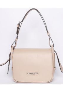 Bolsa Com Lapelas - Rosa Claro - 22X26,5X11Cmgriffazzi