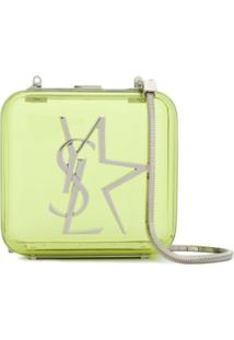 Saint Laurent Transparent Crossbody Bag - Verde