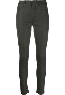 Dondup High-Waisted Skinny Jeans - Cinza
