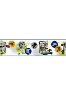 Adesivos De Parede Roommates Colorido Toy Story - Buzz Lightyear Peel & Stick Border