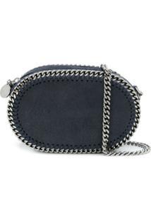 Stella Mccartney Bolsa Transversal Falabella Oval - Azul