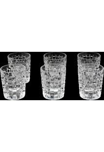 Conjunto 6 Copos De Cristal – Lodz