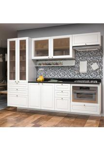 Cozinha Completa 11 Peças Americana Multimóveis 5662Smf Branco