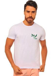 Camiseta Manga Curta Joss Bambum Masculina - Masculino-Branco