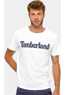 Camiseta Timberland Ss Kennebec Rvr Linear Logo Tee Masculina - Masculino