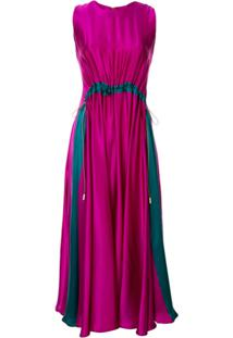 Roksanda Vestido Heliotrope - Roxo