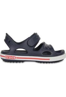 Sandália Crocs Crocband Infantil Sandal Masculino - Masculino-Azul