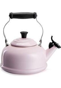 Chaleira Com Apito Tradicional Rosa Pink Le Creuset