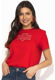 Camiseta Vermelho