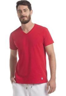 Camiseta Zaiden Store Zaiden Basic T1 - Masculino-Vermelho