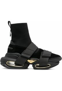 Balmain B-Bold Ankle Boots - Preto