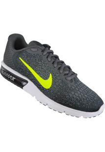 Tenis Cinza Air Max Sequent 2 Nike 60310017