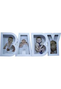 Porta Retrato Minas De Presentes Baby Branco