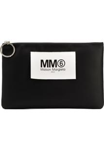 Mm6 Maison Margiela Clutch Slim - Preto