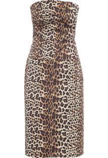 Vestido Lisa - Animal Print