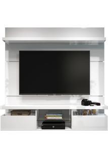 Painel Home Suspenso 1.6 Para Tv Até 55 Sala De Estar Lennon Branco - Gran Belo