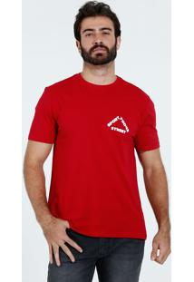 Camiseta Masculina Detalhe Frase Marisa