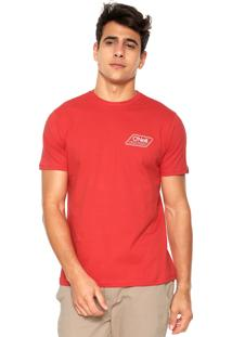 Camiseta O'Neill Challenger Vermelha