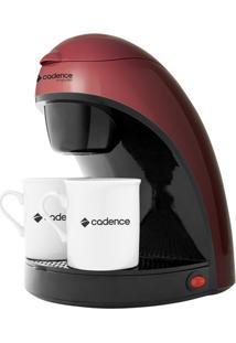 Cafeteira Elétrica Cadence Vermelha Single Colors Caf111 - 110V