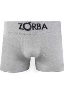 55972d24e ... Cuecas Boxer Zorba Com Algodão S  Embalagem - Masculino-Cinza