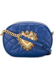 Dolce & Gabbana Devotion Cross Body Bag - Azul