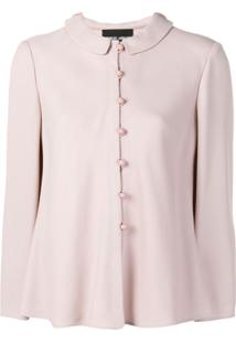 Giorgio Armani Classic Collar Jacket - Rosa
