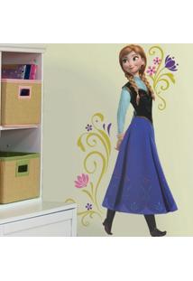 Adesivo De Parede Frozen Anna