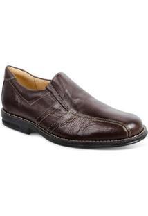 Sapato Casual Sandro & Co Masculino - Masculino-Marrom