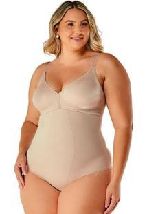 Body Modelador Plus Size Sem Bojo Feminino
