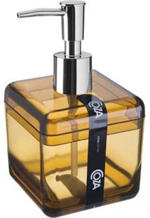 Porta Sabonete Líquido Banho Cube 330Ml Mel 20878/0456 Coza