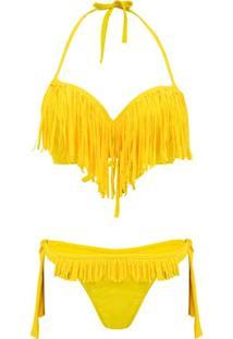 Conjunto De Biquíni Amarelo